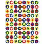 Stars & Circles 105/Pkg - Sticker Forms