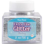 Silver - Extra Fine Glitter 2 Ounces