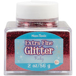 Ruby - Extra Fine Glitter 2 Ounces
