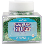Emerald - Extra Fine Glitter 2 Ounces