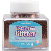 Chocolate - Extra Fine Glitter 2 Ounces