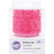Pink 24/Pkg - Ruffle Standard Baking Cups
