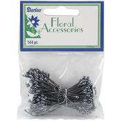 Black Pearl Flower Stamens 144/Pkg