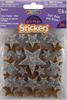 Stars-Silver/Gold - Foam Glitter Stickers 38/Pkg