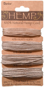 Natural - Hemp Cord Assortment 106.7'/Pkg