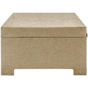"""7""""X5.5"""" - Paper-Mache Jewel Box"""