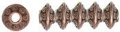 Copper Rondelle - Jewelry Basics Metal Beads 6mm 45/Pkg