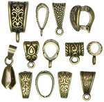 Antique Gold Mixed Bail Pack - Jewelry Basics Metal Findings 13/Pkg