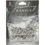 Silver Split Rings 6mm-8mm - Jewelry Basics Metal Findings