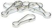 Silver Lanyard Hooks - Jewelry Basics Metal Findings 50/Pkg