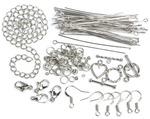 Silver Starter Pack - Jewelry Basics Metal Findings 134/Pkg