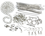 Silver Starter Pack - Jewelry Basics Metal Findings 134/Pkg