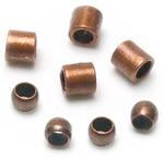 Copper Crimp Tubes 2mm - Jewelry Basics Metal Findings 500/Pkg