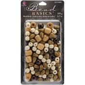 #2 - Jewelry Basics Wood Bead Mix 3.7oz