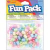 Assorted Deco - Fun Pack Acrylic Pony Beads 125/Pkg