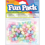 Assorted Deco - Fun Pack Acrylic Pony Beads 125/Pkg