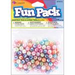 Assorted Pastel - Fun Pack Acrylic Pony Beads 144/Pkg