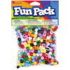 Assorted Colors - Fun Pack Acrylic Mini Pony Beads 650/Pkg