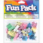 Assorted Christian - Fun Pack Acrylic Shaped Beads 32/Pkg