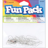 Silver - Fun Pack Lanyard Hook 18/Pkg