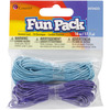 Blue And Purple - Fun Pack Stretch Cord 17.5yd/Pkg