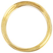 Gold Plated/Approx 30 Loops - Memory Wire Bracelet .5oz/Pkg