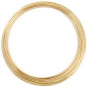 Gold Plated/Approx 18 Loops - Memory Wire Necklace .5oz/Pkg