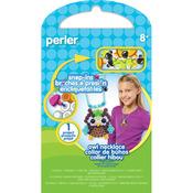 Owl Necklace - Perler Snap-Ins Fun Fusion Fuse Bead Activity Kit