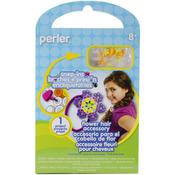 Flower Hair Accessory - Perler Snap-Ins Fun Fusion Fuse Bead Activity Kit