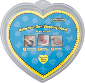 "Heart 12"" - Stepping Stone Mold"