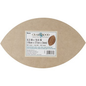 "MDF Wood Shape Football 6.3""X10.63""-"