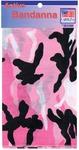 """Hav - A - Hank Camouflage Bandanna 22""""X22""""-Pink"""