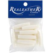 White - Imitation Bone Beads 37mm 12/Pkg