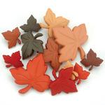 Autumn Leaves - Dress It Up Holiday Embellishments