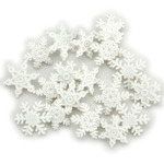 Snow - Dress It Up Holiday Embellishments