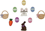 Easter Basket - Dress It Up Holiday Embellishments
