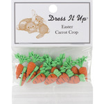 Carrot Crop - Dress It Up Holiday Embellishments