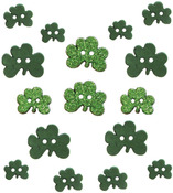Shamrocks - Dress It Up Holiday Embellishments