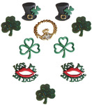 When Irish Eyes Are Smiling - Dress It Up Holiday Embellishments