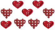 Gift Of Love - Dress It Up Holiday Embellishments