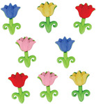 Easter Tulips - Dress It Up Holiday Embellishments