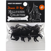 Spiders! - Dress It Up Holiday Embellishments