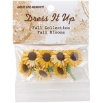 Fall Blooms - Dress It Up Holiday Embellishments