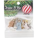 Nativity - Dress It Up Holiday Embellishments