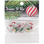 Not A Creature Was Stirring - Dress It Up Holiday Embellishments