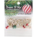 A Choir Of Angels - Dress It Up Holiday Embellishments