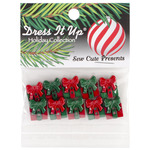 Sew Cute Presents - Dress It Up Holiday Embellishments