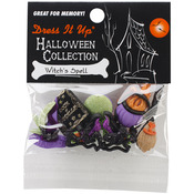 Witches Spells - Dress It Up Holiday Embellishments