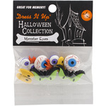 Monster Eyes - Dress It Up Holiday Embellishments
