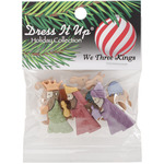 We 3 Kings - Dress It Up Holiday Embellishments